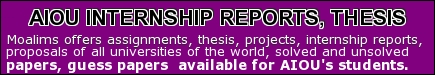 Allama Iqbal open university assignments